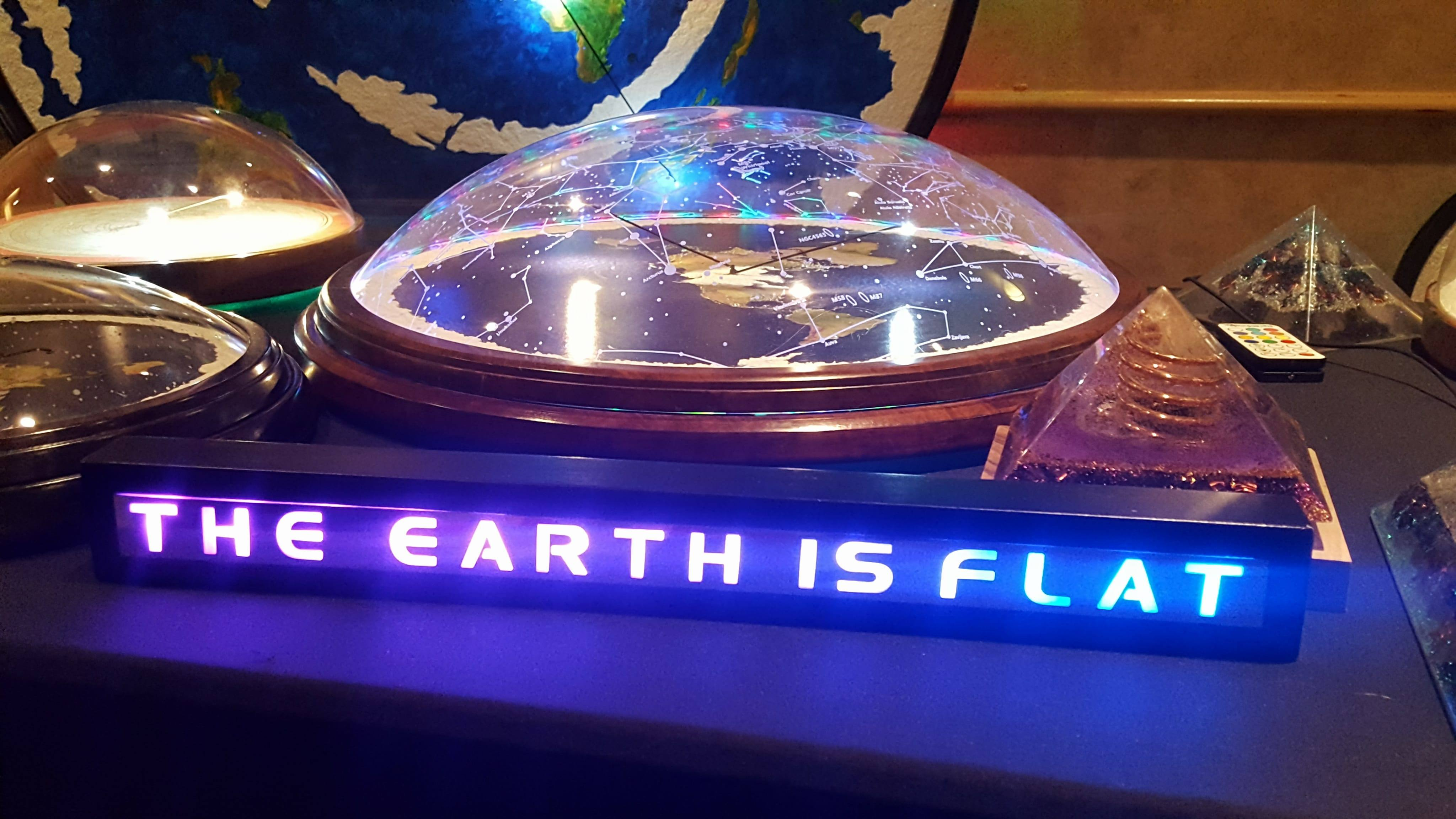 flat earth model feic 2017